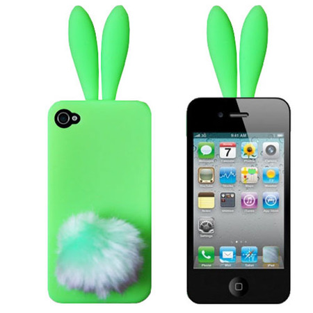 "Чехол для iPhone 5/5s ""Bunny green"" фото"