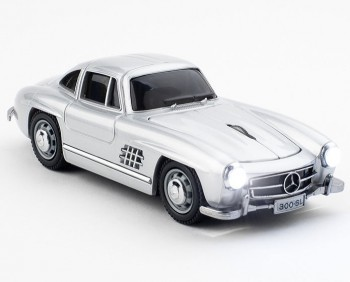 Мышь б/пр Click Car Mouse - Mercedes SL 300, Silver фото