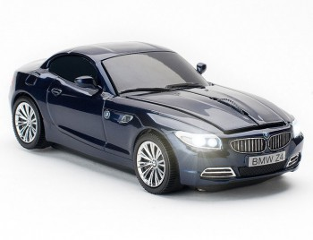 Мышь б/пр Click Car Mouse - BMW Z4, Deep Sea Blue фото