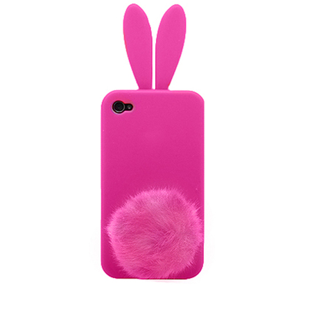 "Чехол для iPhone4 ""Bunny pink"" фото"