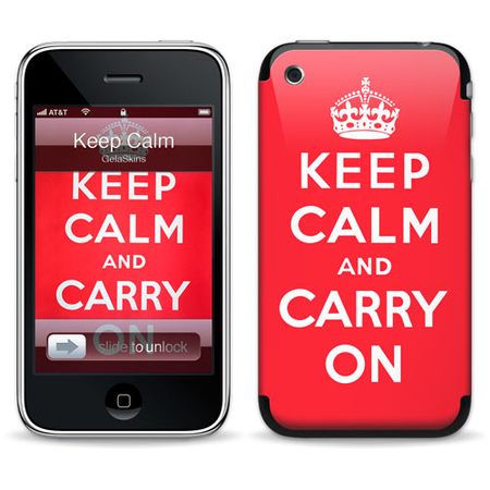 "Наклейка ""Keep Calm for 3G/3GS"" фото"