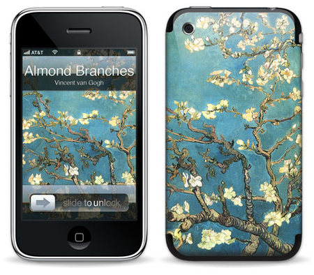 "Наклейка ""Almond Branches in Bloom for 3G/3GS"" фото"