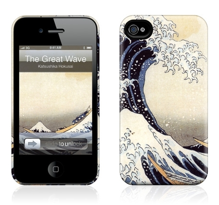 "Чехол для iPhone 4,4S Gelaskins ""The Great Wave"" фото"