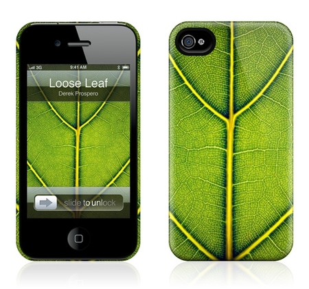 "Чехол для iPhone 4,4S Gelaskins ""Loose Leaf"" фото"