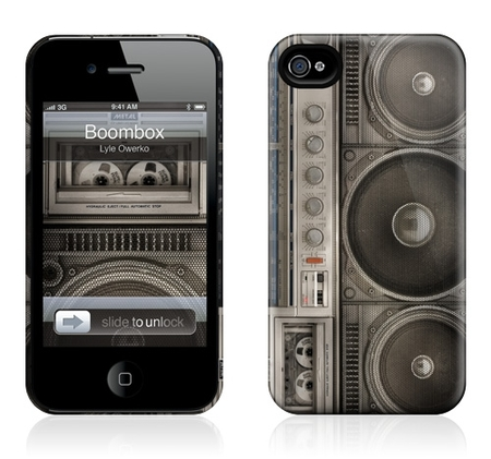 "Чехол для iPhone 4,4S Gelaskins ""Boombox"" фото"