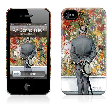 "Чехол для iPhone 4,4S Gelaskins ""Art Connoisseur"" фото"