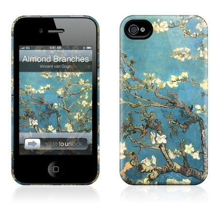 "Чехол для iPhone 4,4S Gelaskins ""Almond Branches in Bloom"" фото"