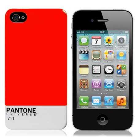 "Чехол для iPhone4 ""Pantone Red"" фото"