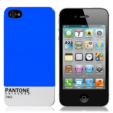 "Чехол для iPhone4 ""Pantone Blue"" фото"