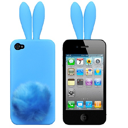Чехол для iPhone5/5s Bunny blue фото