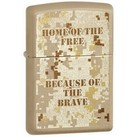 "Зажигалка ZIPPO ""HOME OF THE FREE"" фото"