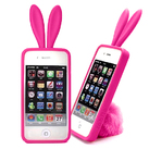 "Чехол для iPhone4 ""Bunny pink"" фото 0"