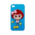 "Чехол для iPhone4 ""Girl pink"" фото 1"