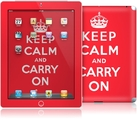 "Наклейка для iPad 2 ""KeepCalm"" фото"