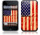"Наклейка ""Stars and Stripes for 3G/3GS"" фото 0"