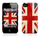 "Чехол для iPhone 4,4S Gelaskins ""Union Jack"" фото 0"