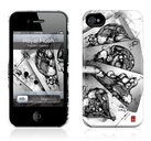 "Чехол для iPhone 4,4S Gelaskins ""Royal Flush"" фото"