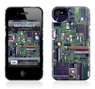 "Чехол для iPhone 4,4S Gelaskins ""Motherboard"" фото"