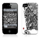 "Чехол для iPhone 4,4S Gelaskins ""Ink Pond"" фото 0"
