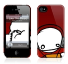 "Чехол для iPhone 4,4S Gelaskins ""Exploding Dog - I Like This Music""  фото"