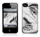 "Чехол для iPhone 4,4S Gelaskins ""Drawing Hands"" фото"