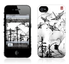"Чехол для iPhone 4,4S Gelaskins ""Cable Cranes"" фото 0"