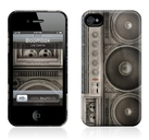 "Чехол для iPhone 4,4S Gelaskins ""Boombox"" фото 0"