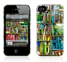 "Чехол для iPhone 4,4S Gelaskins ""Bookshelf"" фото"