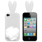 Чехол для iPhone5/5s Bunny white фото 0