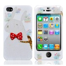 "Чехол для iPhone4 ""I love you, my rabbit"" фото"