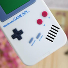 "Чехол для iPhone4 ""Game boy"" (белый) фото 1"