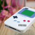 "Чехол для iPhone4 ""Game boy"" (белый) фото 2"