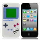 "Чехол для iPhone4 ""Game boy"" (белый) фото 0"